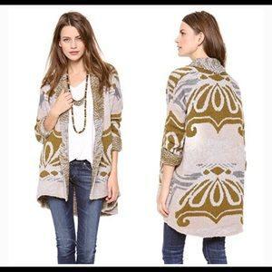 EUC Free People Winters Day Cardigan xsmall